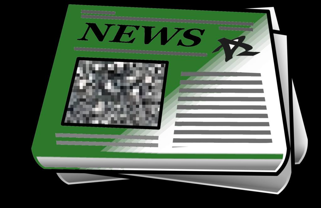 Imagen de periódico verde