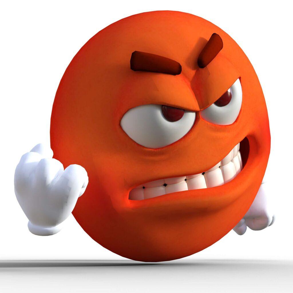 Cara de enfado